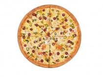 Пицца Остро-пестрая 33 см на тонком тесте
