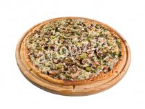 Пицца Остро и вкусно 33 см на тонком тесте