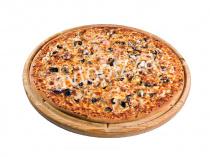 Пицца С того берега моря 33 см на тонком тесте