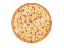 Пицца Гавайская 33 см на тонком тесте