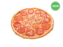 Пицца Маргарита 33 см на тонком тесте
