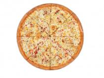 Пицца Молодежная 33 см на тонком тесте