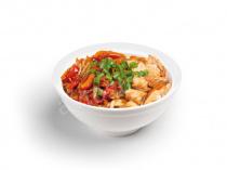 Рисовая лапша с лососем