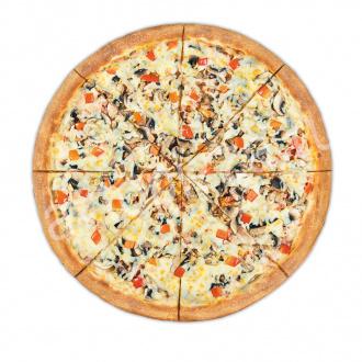 Пицца Ветчина-грибы 33 см