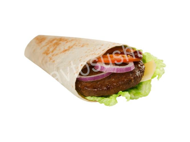 Большой Тортилья-ролл с говядиной