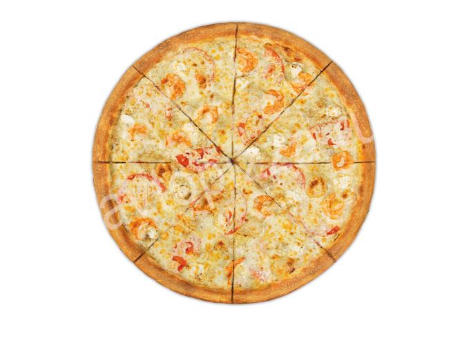 Пицца Весёлая креветка 33 см