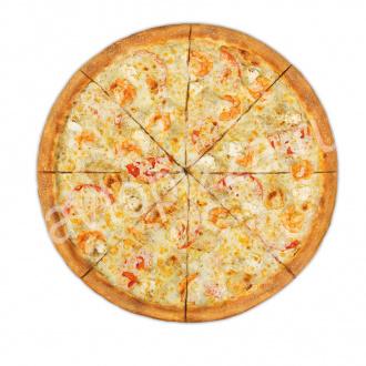 Пицца Весёлая креветка 33 см на тонком тесте