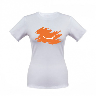 Футболка женская оранжевая 42р