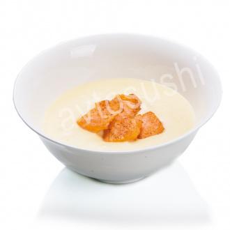 Крем-суп сырный с лососем