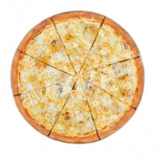 Пицца Сыр-Сыр 33 см на тонком тесте
