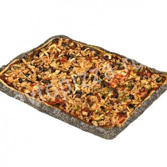 Пицца чёрная Римская весна